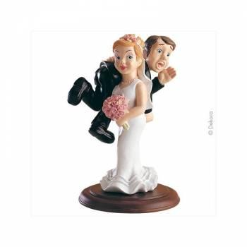 Figurine de Mariés Kidnapping 15 cm