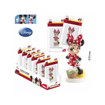 Bougie Minnie pois rouge