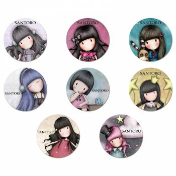 16 Mini disques en sucre Santoro