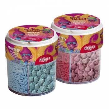 Assortiment confettis en sucre Trolls