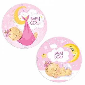 Disque azyme baby girl lune