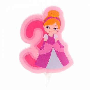 Bougie n°3 Princesse