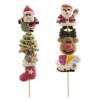 Brochette de Marshmallow Copains de Noël
