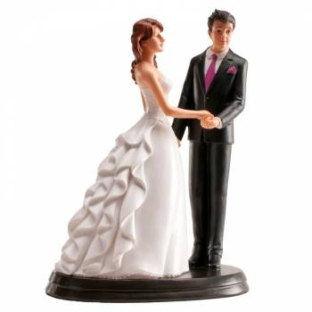 Figurine Mariés Romantique 20 cm