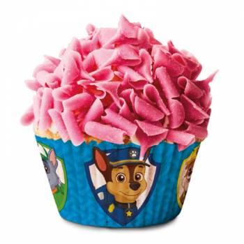 50 Caissettes à cupcakes Pat Patrouille