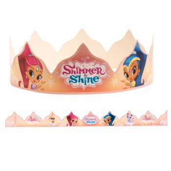 Couronnes pour galettes Shimmer Shine