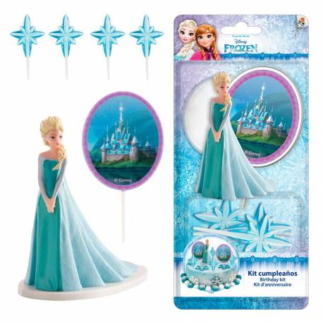 kit figurine elsa la reine des neiges deco de g teau. Black Bedroom Furniture Sets. Home Design Ideas