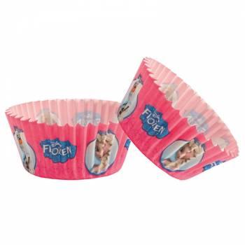 50 caissettes cupcakes La reine des neige