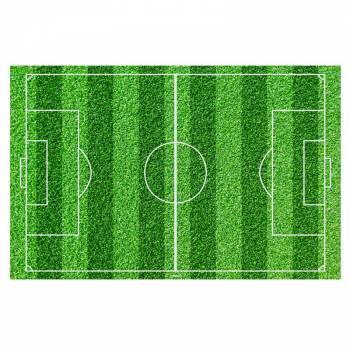 Terrain de footbal en sucre A4