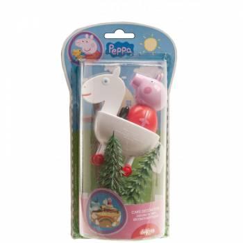 Kit figurine Peppa pig pour gateau