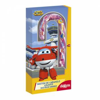 Candy Cane géante Super wings