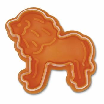 Emporte pièce empreinte Lion