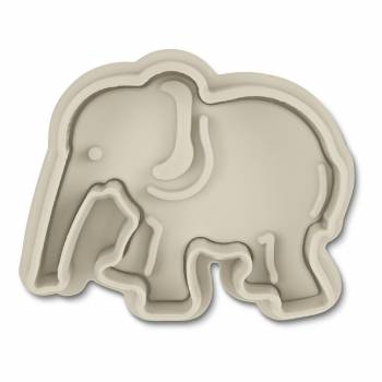 Emporte pièce empreinte Elephant