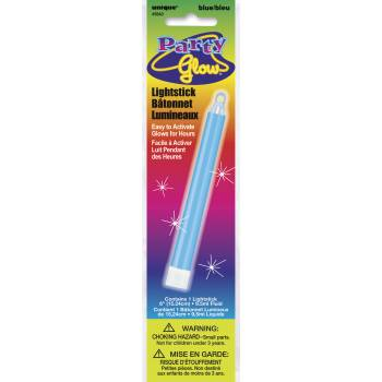Bâton phosphorescent fluo bleu