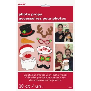 10 Accessoires photobooth Noël