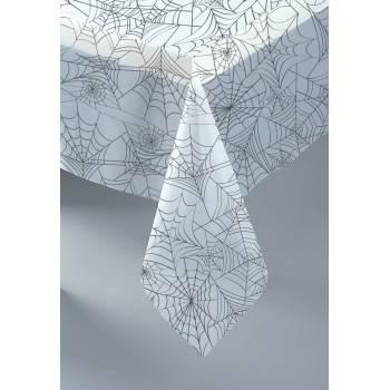 Nappe en plastique toile d'araignée