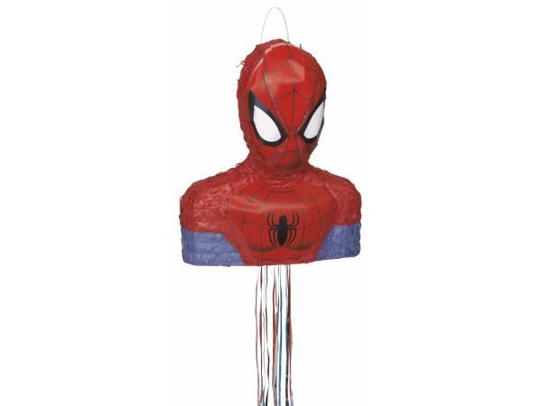 pinata pull spiderman deco anniversaire. Black Bedroom Furniture Sets. Home Design Ideas