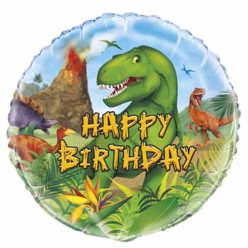 Ballon hélium Dinosaure