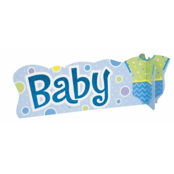 Décor à poser Baby bleu