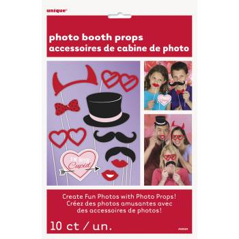 10 Accessoires photobooth Amour