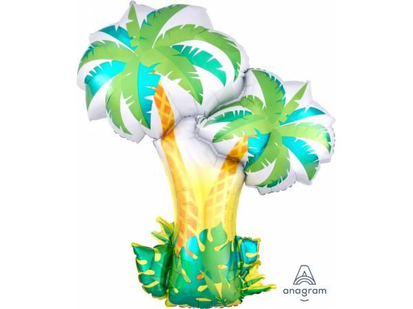 Ballon hélium palmier