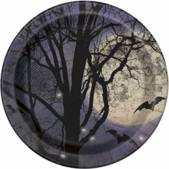 8 Assiettes clair de lune