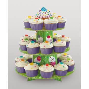 Présentoir à Cupcakes folie