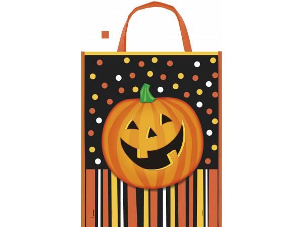 Deco table Halloween- Sac cabas citrouille