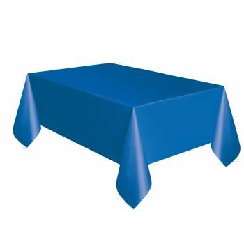 Nappe en plastique bleu royal