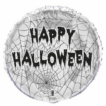 Ballon hélium Happy Halloween araignée