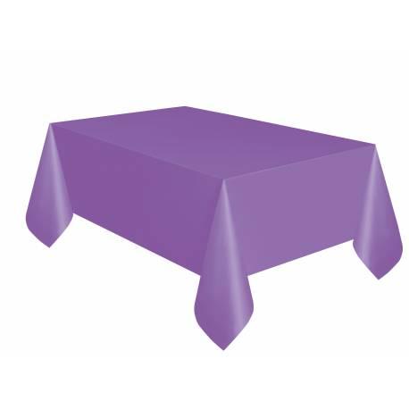 Nappe en plastique rectangle Dimensions : 275 cm x 140 cm