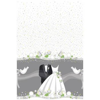 Nappe mariage romantique