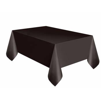 Nappe en plastique rectangle Black