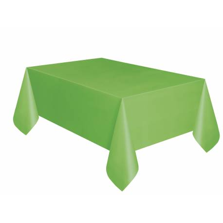 Nappe en plastique rectangle Dimensions : 275 cm x 140 cm
