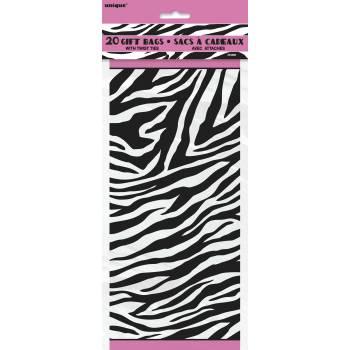20 sachets confiserie zebra passion