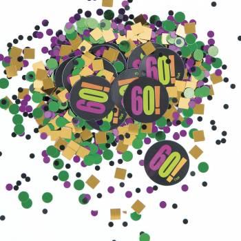 Confettis 60 ans