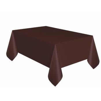 Nappe en plastique chocolat