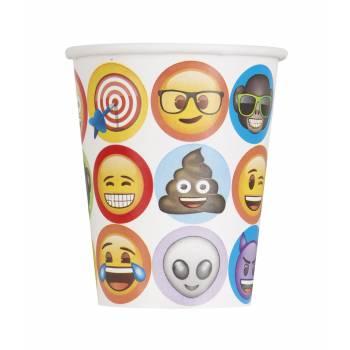 8 Gobelets Emoji