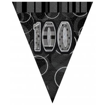 Fanions 100 ans Black/White