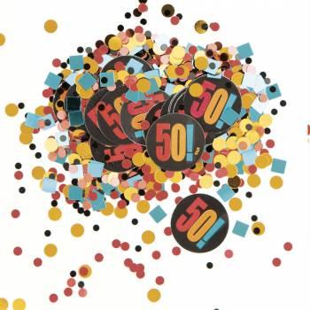 Confettis 50 ans