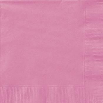 20 Serviettes papier fuchsia