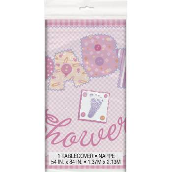 Nappe Baby pink patchwork