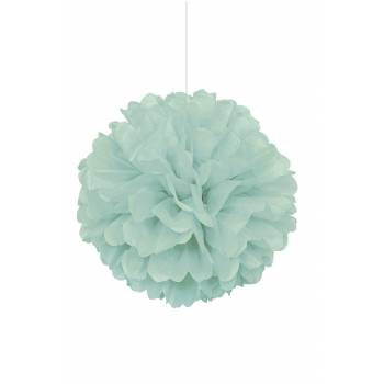 Suspension froufrou papier fluo mint