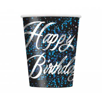 8 Gobelets HB black blue