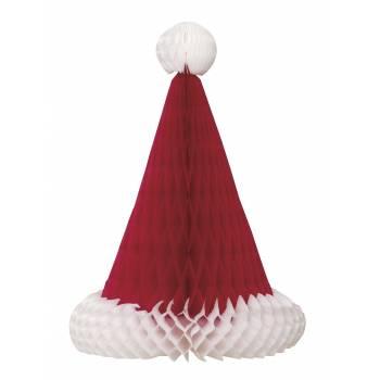 Décor de table bonnet de Père Noël