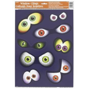 8 Autocollants yeux