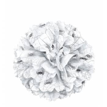 Suspension pompon en papier araignée