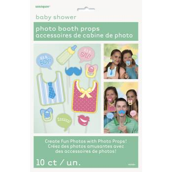 10 Accessoires photobooth Baby shower