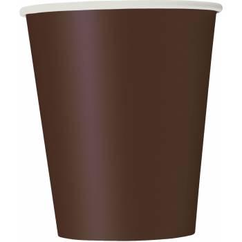 14 Gobelets carton chocolat