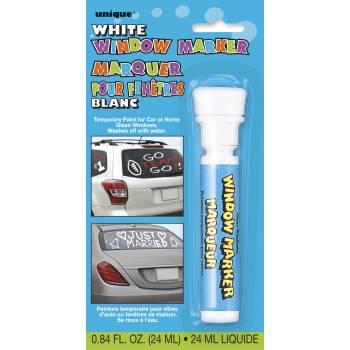 Marqueur à vitre blanc